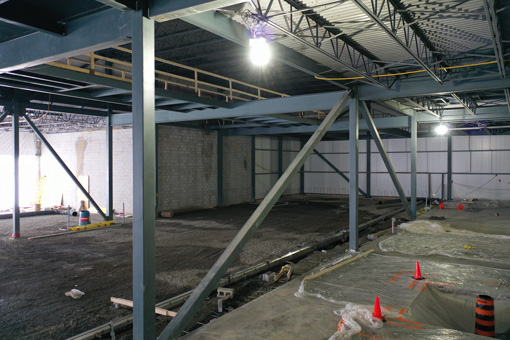 Using a Drone To Document Facility Construction Progress