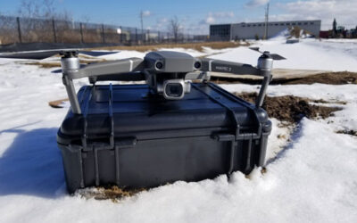 Using a Drone to Document Food Facility Construction Progress